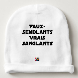 BLOODY PRETENCES, TRUTHS - Word games Baby Beanie