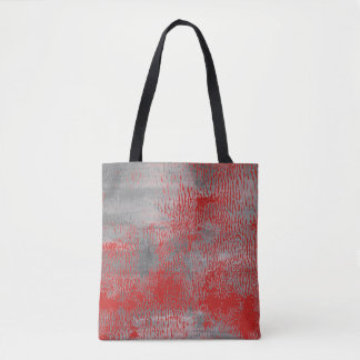 """Bloody red bag"" : Original vintage Tote bag"