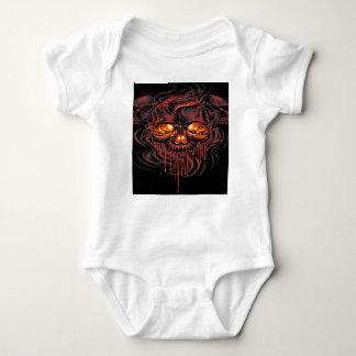 Bloody Red Skeletons Baby Bodysuit