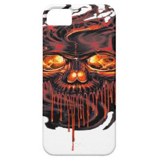 Bloody Red Skeletons PNG iPhone 5 Case