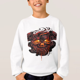 Bloody Red Skeletons PNG Sweatshirt