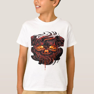 Bloody Red Skeletons PNG T-Shirt