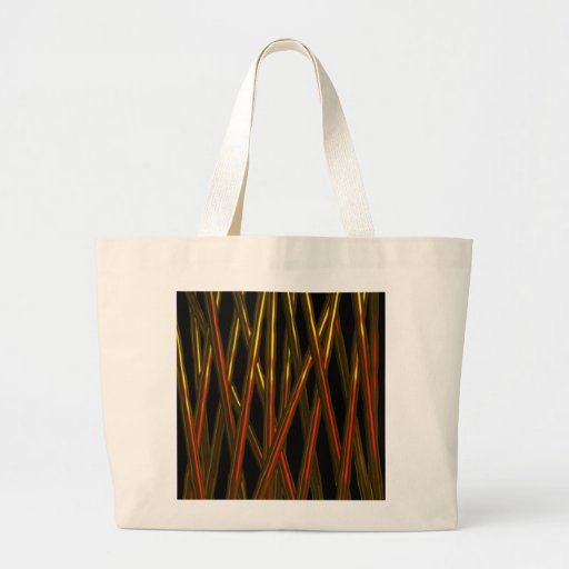 BLOODY RODS ABSTRACT BY VALXART.COM TOTE BAG