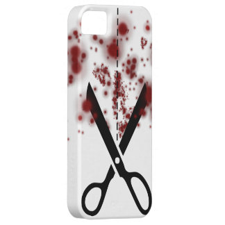 Bloody  Scissors Case For The iPhone 5