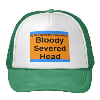 Bloody Severed Head Cap