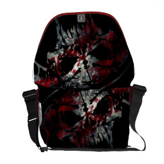 Bloody Skull Bag Courier Bags