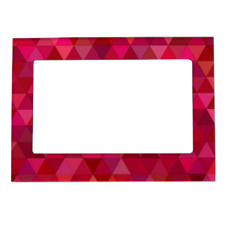 Bloody triangles frame magnets