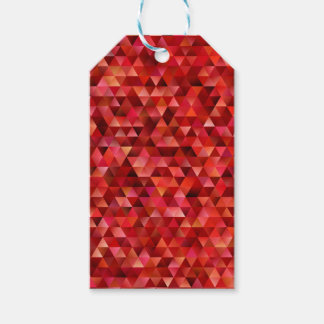 Bloody triangles gift tags