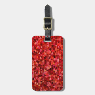 Bloody triangles luggage tag