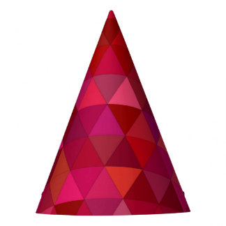 Bloody triangles party hat