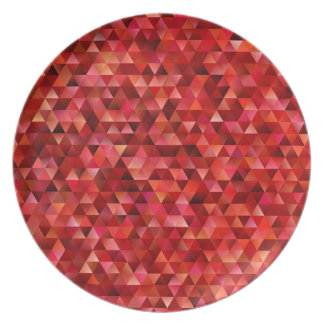 Bloody triangles plate