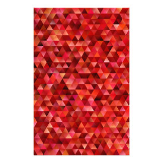 Bloody triangles stationery