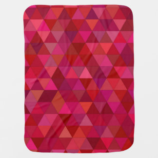 Bloody triangles swaddle blankets