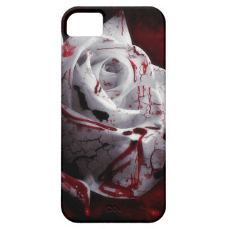 Bloody White Rose Barely There iPhone 5 Case