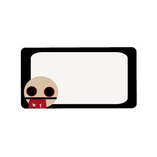 Bloody Zombie Address Label