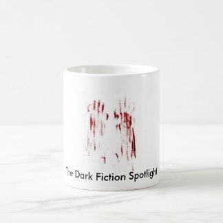 bloodyprints, The Dark Fiction Spotlight. Basic White Mug