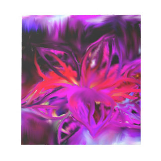 Bloom Abstract Design Notepad