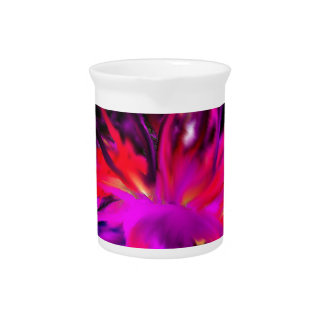 Bloom Abstract Design Pitcher