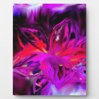 Bloom Abstract Design Plaque