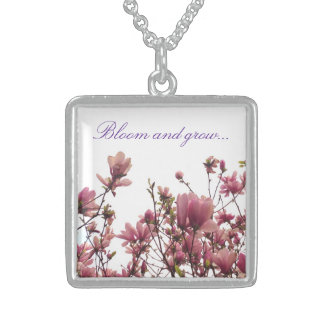 Bloom and Grow necklace