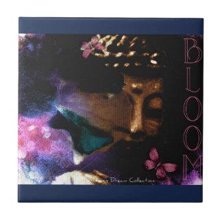 Bloom Buddha Ceramic Tile