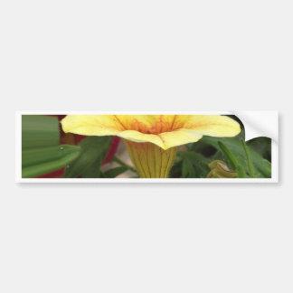 Bloom cups bumper sticker