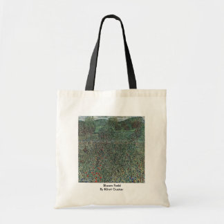 Bloom Field By Klimt Gustav Tote Bag