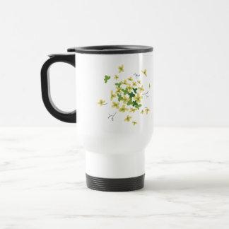 Bloom - Green Hydrangea Travel Mug