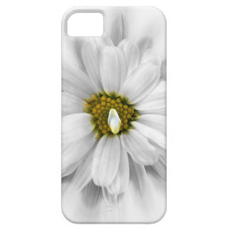 bloom in shades of white iPhone 5 cases