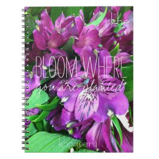 Bloom Monogram Notebook