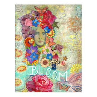 Bloom Postcard