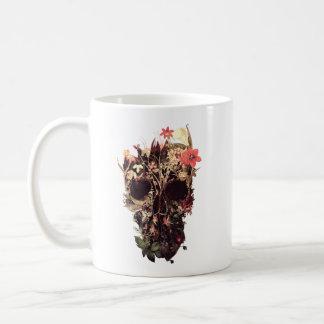 Bloom Skull Coffee Mug