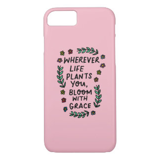 Bloom With Grace iPhone 8/7 Case