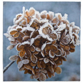 Bloom with ice crystals napkin
