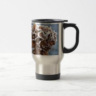 Bloom with ice crystals travel mug