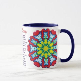 Bloom Yoga Song Mug