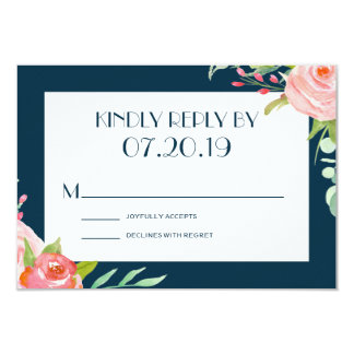 Blooming Botanicals | Wedding RSVP Card