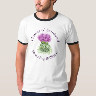 Blooming Brilliant Scottish Thistle Tees