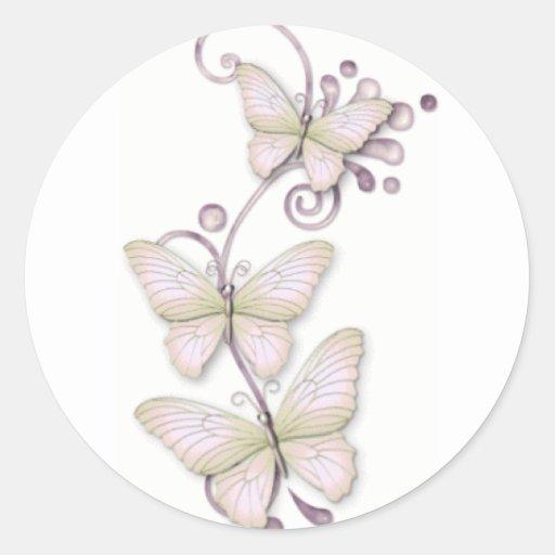 Blooming Butterflies 3 Stickers