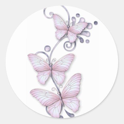 Blooming Butterflies Sticker