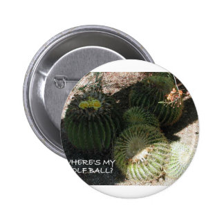 BLOOMING CACTI AND ASSORTED PHRASES BUTTON