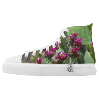 BLOOMING CACTUS  HIGH TOPS