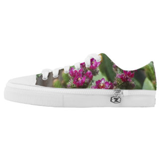 BLOOMING CACTUS  LO TOP SNEAKERS