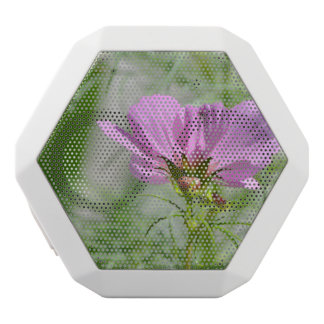 Blooming Cosmos Flowers White Boombot Rex Bluetooth Speaker