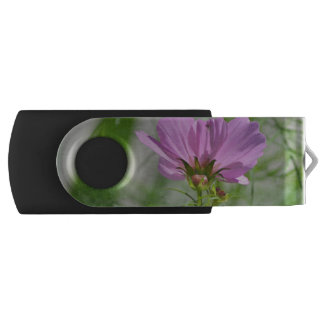 Blooming Cosmos Flowers Swivel USB 2.0 Flash Drive