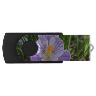 Blooming Crocus Swivel USB 2.0 Flash Drive