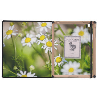 Blooming Daisies Floral Painterly Photograph iPad Covers
