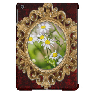 Blooming Daisies Floral Painterly Photograph Cover For iPad Air