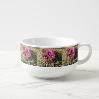 Blooming Devil s Tongue Barrel Cactus Soup Mug