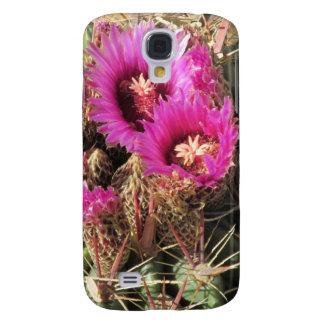 Blooming Devil's Tongue Barrel Cactus Samsung Galaxy S4 Cover